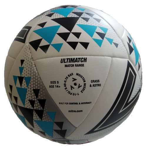 Мяч футбольный MITRE ULTIMATCH HP L20P, №5, BB1117YOU фото 3